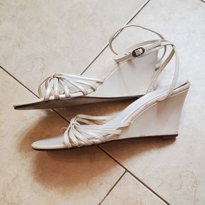 Ivory colored wedges